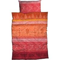Casatex Indi Satin orange 155 x 220 cm + 80 x 80 cm