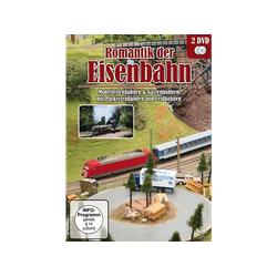 Romantik der Eisenbahn: Modelleisenbahnen & Gartenbahnen mit Parkeisenbahnen DVD