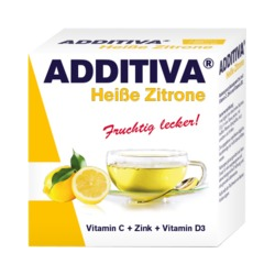 ADDITIVA heiße Zitrone Pulver