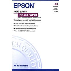 Epson S041068 C13S041068 Fotopapier DIN A3 100 Blatt Matt, Gestrichen