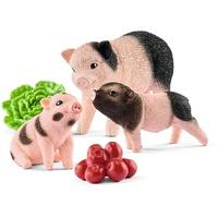 Schleich Farm World-Mini-Schwein Mutter und Ferkel 42422