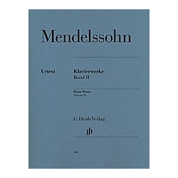 Klavierwerke. Felix - Klavierwerke  Band II Mendelssohn Bartholdy  - Buch