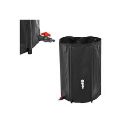 casa.pro Wassertank, Regentonne 250L Regenwassertank Regenwasserspeichern Regenwasserfass Zisterne Ø 60 cm x 88 cm
