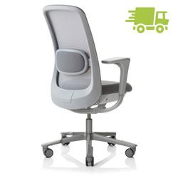 HAG SoFi Mesh 7500 Bürostuhl mit hoher 200er Gasfeder - Slideback Armlehnen