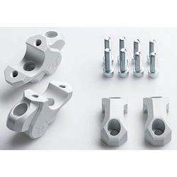 SW-Motech BMW 32/25mm Lenkerverlegung - Silber - one size