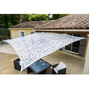 WerkaPro 10105 Sonnensegel aus Polyester, rechteckig, für Balkon, Terrasse und Garten