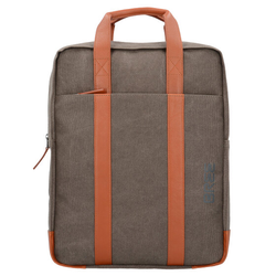 Bree Pnch 716 Business Rucksack 40 cm Laptopfach grey cognac