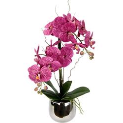 Kunstpflanze Phalaenopsis im Topf Phalaenopsis, I.GE.A., Höhe 45 cm rosa