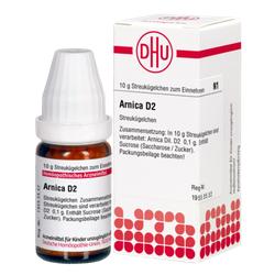 ARNICA D 2 Globuli 10 g