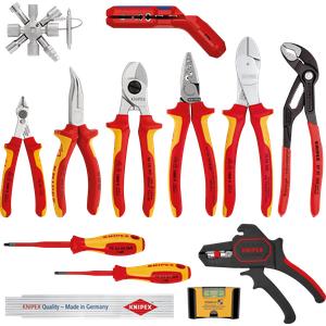 KN 00 20 90 V02 - Werkzeugsatz, Knipex Erweiterungsset Elektro 2, 13-teilig