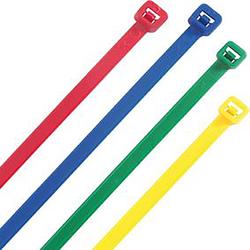 Heidemann Kabelbinder farbig sort. 300x4,8mmit 100 St.Heideman