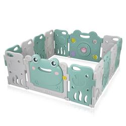 Baby Vivo Laufgitter aus Kunststoff 14 Elemente - Fridolin
