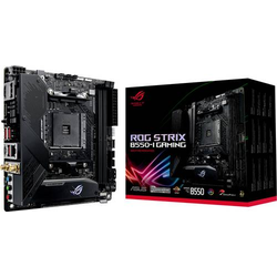 Asus ROG STRIX B550-I GAMING Mainboard Sockel AMD AM4 Formfaktor Mini-ITX Mainboard-Chipsatz AMD® B