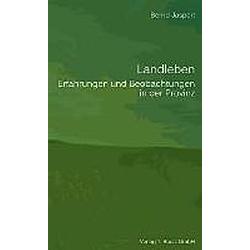 Landleben. Bernd Jaspert  - Buch