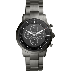 Fossil Smartwatches COLLIDER HYBRID SMARTWATCH HR, FTW7009 Smartwatch (Proprietär)