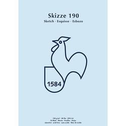 HAHNEMÜHLE Skizzenblock Skizze 190 DIN A3