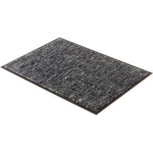 Fußmatte Miami 003, SCHÖNER WOHNEN-Kollektion, rechteckig, Höhe 7 mm, waschbar grau 50 cm x 70 cm x 7 mm