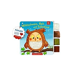 Wildschwein  Reh und Eulenkind - Buch
