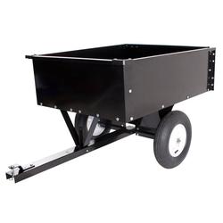 Rasentraktor Anhänger 300 kg - Mit Kippfunktion 154 x 95 x 35 cm