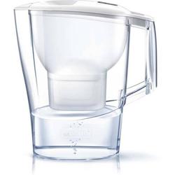 4 Stück Brita Wasserfilter-Kanne Aluna weiß