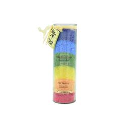 yogabox Duftkerze Chakra Kerze MULTICOLOR ca. 20 cm