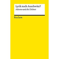 Lyrik nach Auschwitz? - Buch