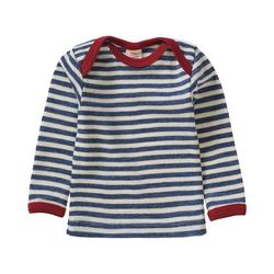 Engel Unterhemd Baby Unterhemd aus 100% Merinoschurwolle blau 74/80