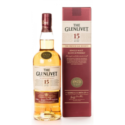 Glenlivet French Oak Reserve 15 Years Single Malt Whisky