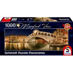 Schmidt Spiele - Puzzle - Rialto Brücke 1000 Teile