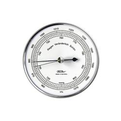 Fischer Barometer Barometer, Edelstahl Innenwetterstation
