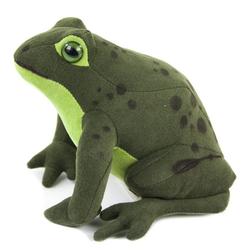 Kösen Kuscheltier Frosch Heinrich 15 cm grün (Frösche Plüschtiere, Stofffrosch Plüschfrosch Spielzeug Baby Kinder)