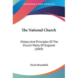 The National Church als Taschenbuch von David Mountfield