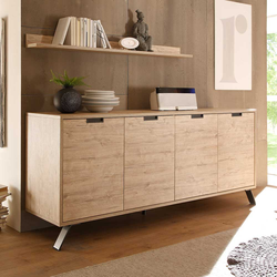 Design Sideboard in Eiche Retro