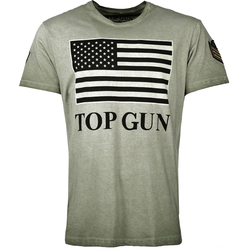 Top Gun Search, T-Shirt - Grün - L