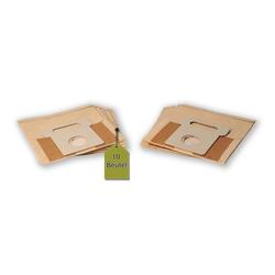 eVendix Staubsaugerbeutel 10 Staubsaugerbeutel Staubbeutel passend für Staubsauger Moulinex 9 CQ 9010, passend für Moulinex