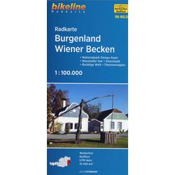 Burgenland - Wiener Becken 1: 100 000