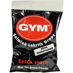 GYM Salmiak Lakritz Drops Zuckerfrei