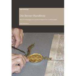 Die Berner Handfeste als Buch von