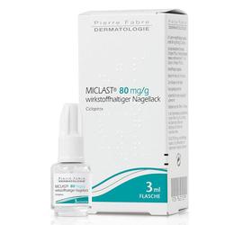 MICLAST 80 mg/g wirkstoffhaltiger Nagellack