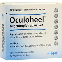 Oculoheel Augentropfen für Tiere ad us. Einzeldosierpipetten vet.