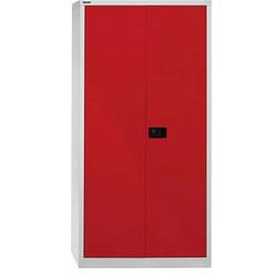 BISLEY Stahlschrank rot/grau