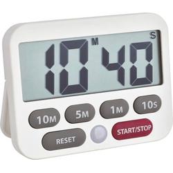 TFA Dostmann 38.2038.02 Timer Weiß digital