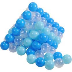 Knorrtoys® Bällebad-Bälle soft blue + white