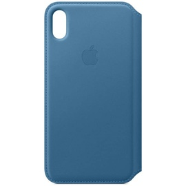 Apple iPhone XS Max Leder Folio cape cod blue