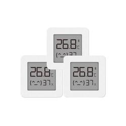 kueatily Fensterthermometer Hygrometer Digitales Thermometer Bluetooth-Innenthermometer 2 Wireless Smart Electric Digitales Hygrometer-Thermometer Arbeit für Mijia App 3 Stück