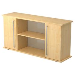 KAPA SB | Sideboard | mit Türen - Ahorn Sideboard Chromgriff Metall