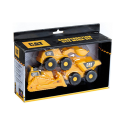 Klein Spielzeug-Auto CAT Fahrzeuge 3-tlg.