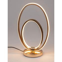 formano LED Tischleuchte Moderne Ovale Ring LED Stehlampe Tischlampe