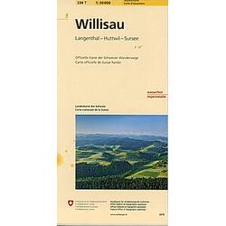Landeskarte der Schweiz Willisau - Buch