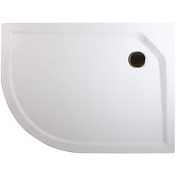 Schulte Duschwanne extra-flach, rund, Acryl, Set, rund, BxT: 90 x 75 cm